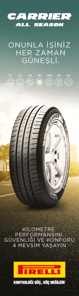 Pirelli Carrier  All Season Onunla İsiniz Herzaman Gunesli